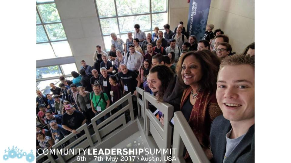 Community Leadership Summit 2017