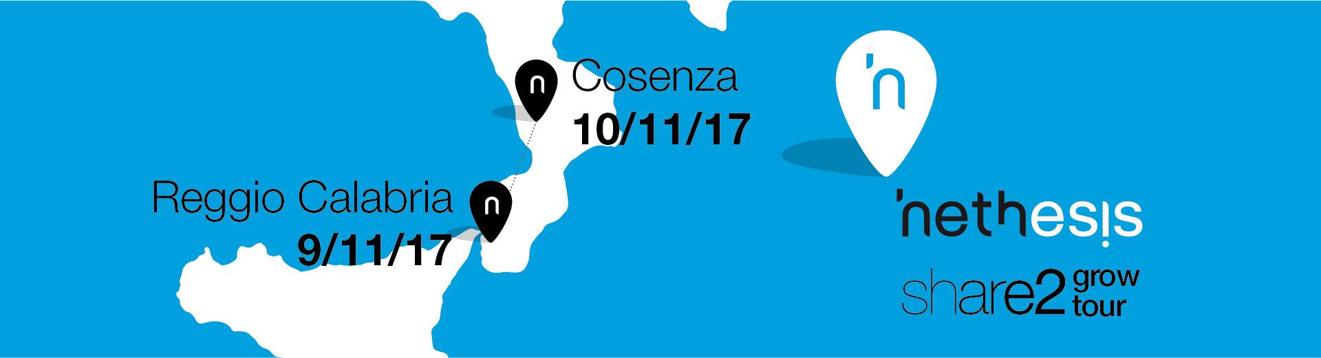 9 E 10 Novembre: Nethesis Va In Calabria